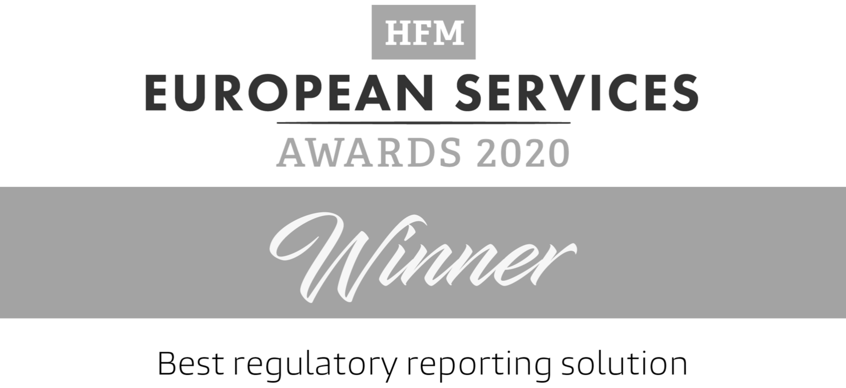HFM European Services Awards 2020 - SteelEye Winner