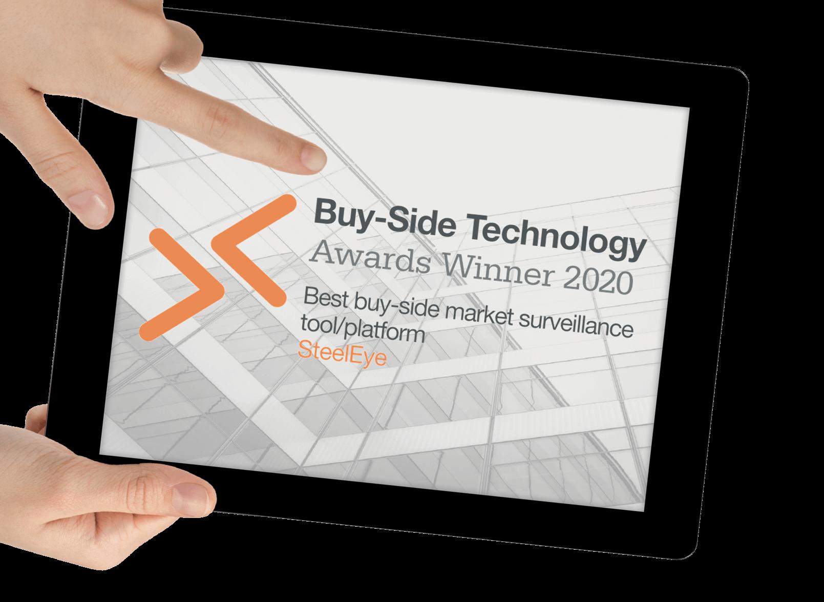 Buy-side technology awards winner 2020-1