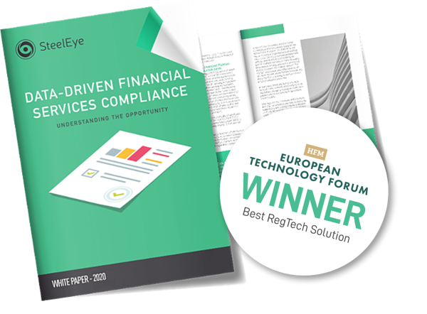 Data Driven Financial Services Compliance - Understanding the opportunity