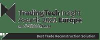 TradeTech Insight Awards 2021 Best Trade Reconstruction Solution