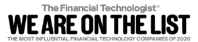 We are on the list - Harrington Starr logo for the most influential FinTech companies in 2020