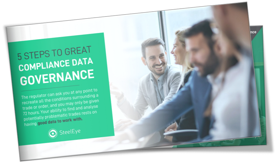 SteelEye E-book - 5 Steps to Great Compliance Data Governance
