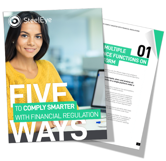 SteelEye E-book - 5 ways to comply smarter
