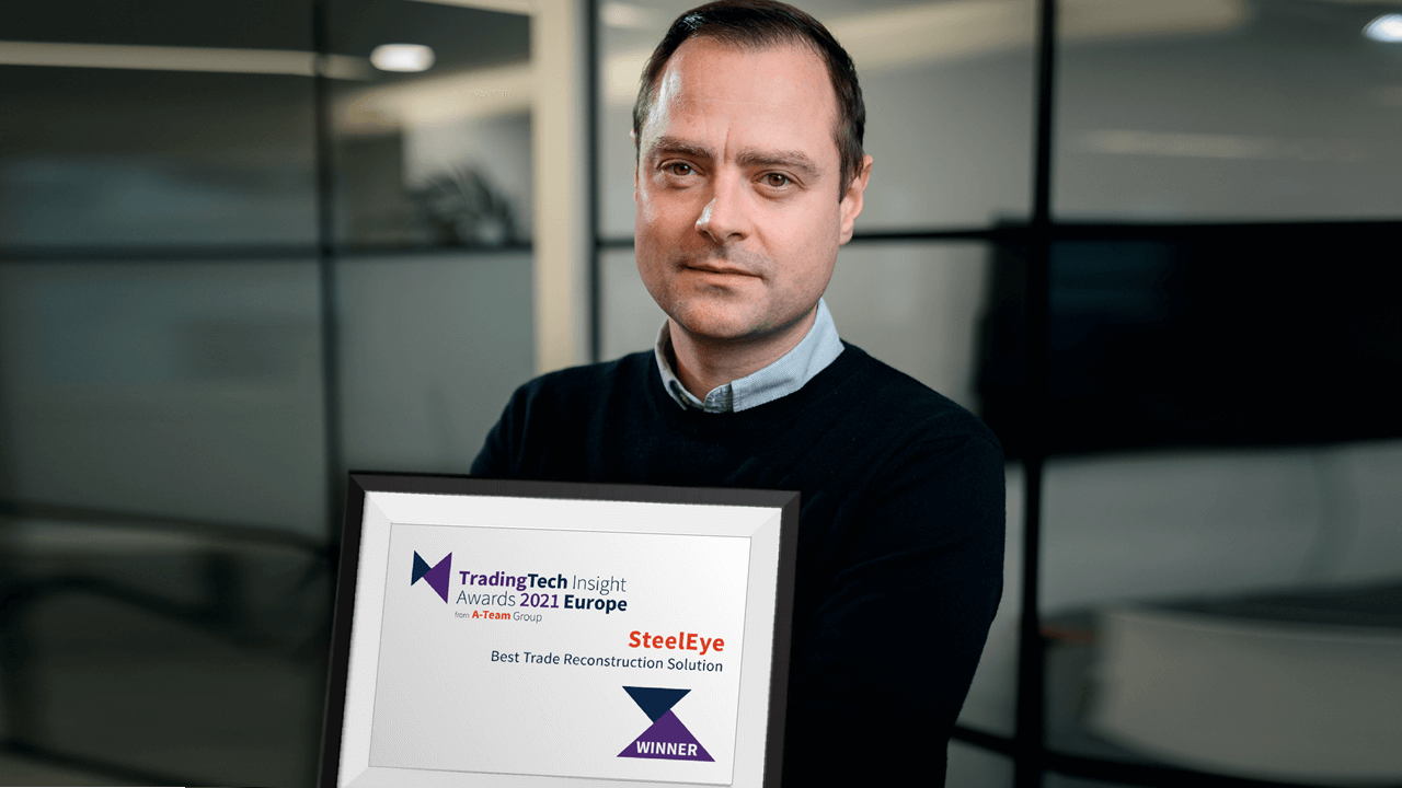 SteelEye Named Best Trade Reconstruction Solution